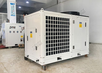 96000BTU Unit Pendingin Sementara Integral 8 Ton 10HP Horizontal Portable Type