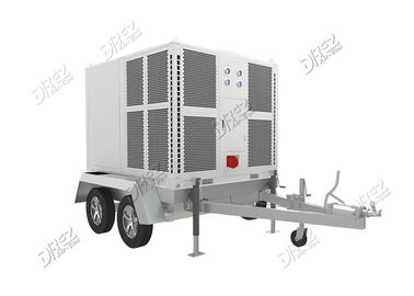 Horizontal Ducted Trailer Mounted Air Conditioner Portable Untuk Kemewahan Tenda Pernikahan